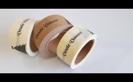 Lepicí papírové pásky s potiskem - Steroll s.r.o. Zlín