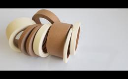 Papírové lepicí pásky v různých šířkách