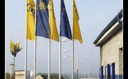 Stožáry vlajkové - funčkní, estetické, bezpečné