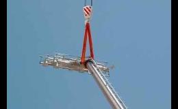 Výroba výškových stožárů pro sportoviště a stadiony