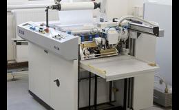 Laminovací stroj k jednostranné i oboustranné laminaci