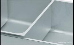 Nerezové vany pro vodní lázeň - vybavení gastroprovozů