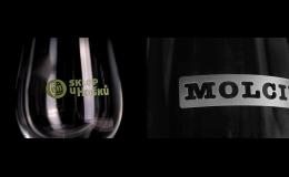 Pískování loga na skleničky pro vinařství, hotely, bary