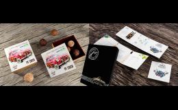 Potisk obalů a dárkových balení, tisk pozvánek, vizitek