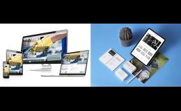 Webové stránky včetně správy webů, domén, hostingu
