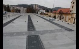 Izolace střech a staveb, izolační fólie, asfaltové pásy