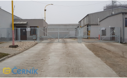 Vjezdové brány pro průmyslové areály - dodání, montáž