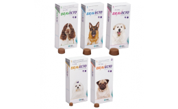 Bravecto tablety pro psy proti klíšťatům a blechám