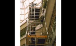 Pojízdné hliníkové lešení BOSS - HROMEK s.r.o. Hodonín