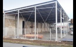 Výroba ocelových konstrukcí pro montované haly