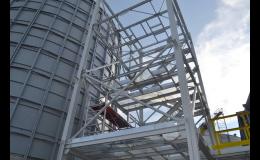 Montované ocelové průmyslové a skladové haly
