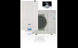Tepelná čerpadla BAXI pro vytápění a ohřev vody