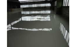 Průmyslové lité podlahy s antistatickým povrchem