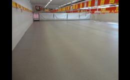 Metylmetakrylátová stěrka - ideální podlaha do prodejny potravin