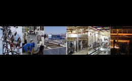 Návrhy, projekty a dodávky automatických technologických celků