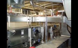 Dodávky klimatizačních zařízení do průmyslových a veřejných objektů