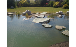 Jezírko Servis - realizace zahrad a jezírek na klíč