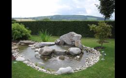 Realizace zahrady podle návrhu zahradního architekta
