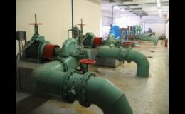 Čerpání technologické vody do chladicích okruhů