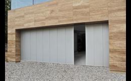 Boční sekční vrata od firmy PERFECT DOOR s.r.o. Praha