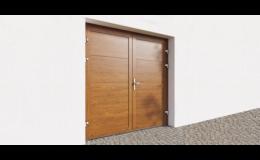 Garážová rezidenční vrata dvoukřídlá