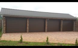 Rolovací garážová vrata pro menší garáže