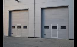 Sekční průmyslová vrata od firmy PERFECT DOOR a.s.