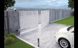 Pohonné systémy křídlových brán - PERFECT DOOR s.r.o.