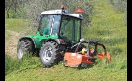 Mulčovací traktory pro práci na polích