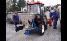 Malotraktory Yanmar pro údržbu měst a obcí