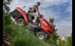 Zahradní sekačky a zahradní traktory SECO