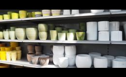 Prodej keramických květináčů a nádob - Zahradnictví Břeclav