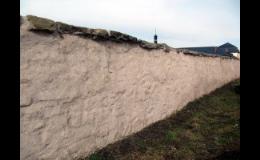 Sanační omítky proti vlhkosti a vzlínání zdiva