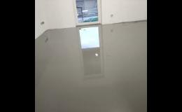 Opravy betonových podlah nivelační stěrkou