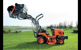 Taktorové sekačky Kubota pro soukromé zemědělce i profesionály