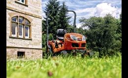 Sekací stroj Kubota pro údržbu zelených ploch