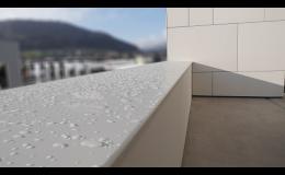 Vnitřní a venkovní okenní parapety - Helopal Classic