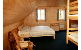 Ubytování pro 16 osob ve stylové chalupě v Orlických horách