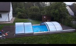 Bazén se slanou vodou - dovolená v Orlických horách