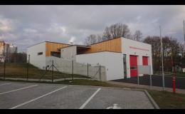 Výstavba požární zbrojnice v Ostravě - Puskovci