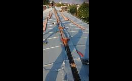 Kompletní rekonstrukce střechy - Stavos Stavba a.s. Ostrava