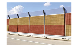 Protihlukové stěny Faseton od Rieder Beton, spol. s r.o. Jihlava