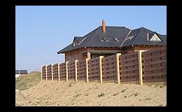 Betonové oplocení, betonové desky, sloupy - Rieder Beton