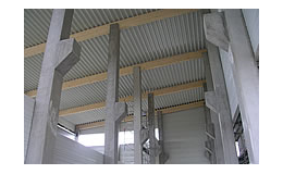 Betonové sloupy prefabrikovaných hal