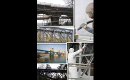 Tryskání ocelových mostů - Tryskání a pískování Břeclavsko