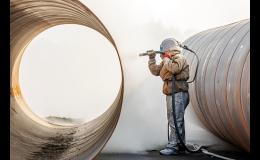 Tryskání a pískování kovových konstrukcí