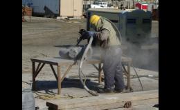 Opracování kovových povrchů tryskáním