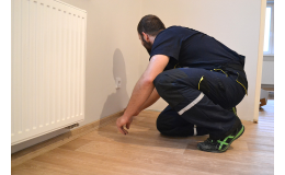 Pokládka podlahových krytin včetně zaměření