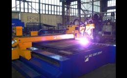 CNC zpracování kovů pomocí pálení plazmou
