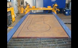 Výroba kovových výpalků CNC technologií pálení plazmou